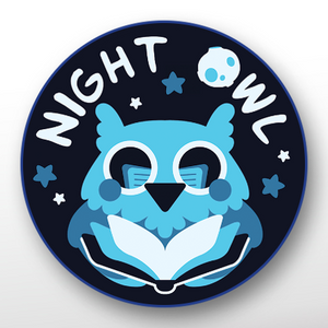 'Night Owl' Button
