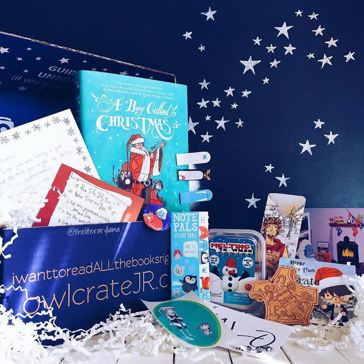 OwlCrate JR Dec 2016 'WINTER WONDERLAND' Box
