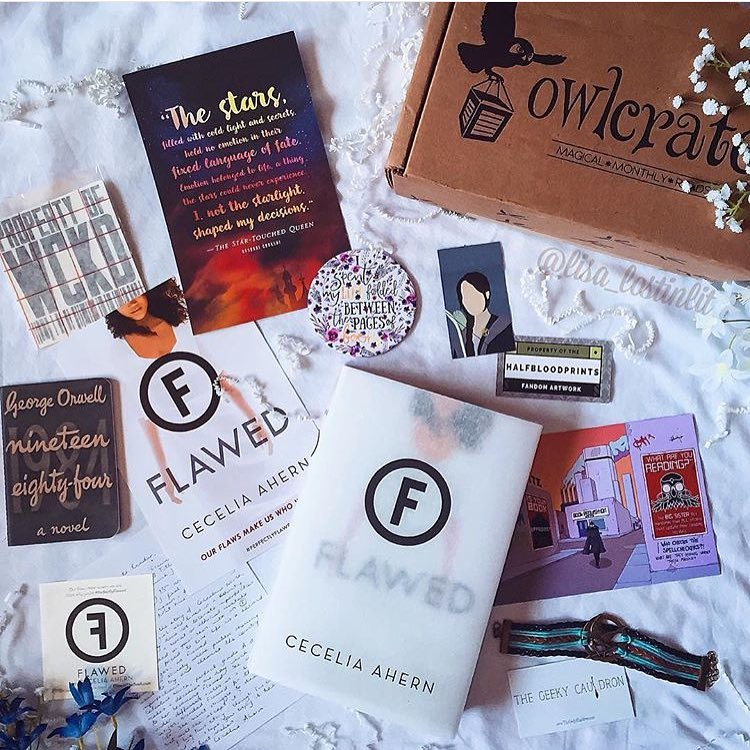 OwlCrate April 2016 'DYSTOPIA' Box