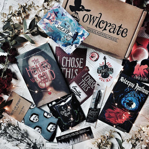 OwlCrate August 2017 'SOMETHING WICKED THIS WAY COMES' Box