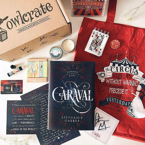 OwlCrate February 2017 'RUN AWAY WITH THE CIRCUS' Box
