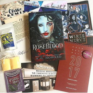 OwlCrate January 2017 'CLASSIC REMIX' Box