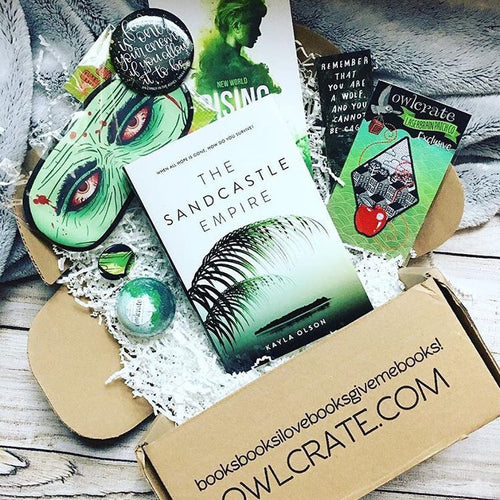 OwlCrate June 2017 'MAKE IT OUT ALIVE' Box