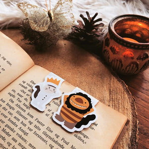 Wild Things Magnetic Bookmarks