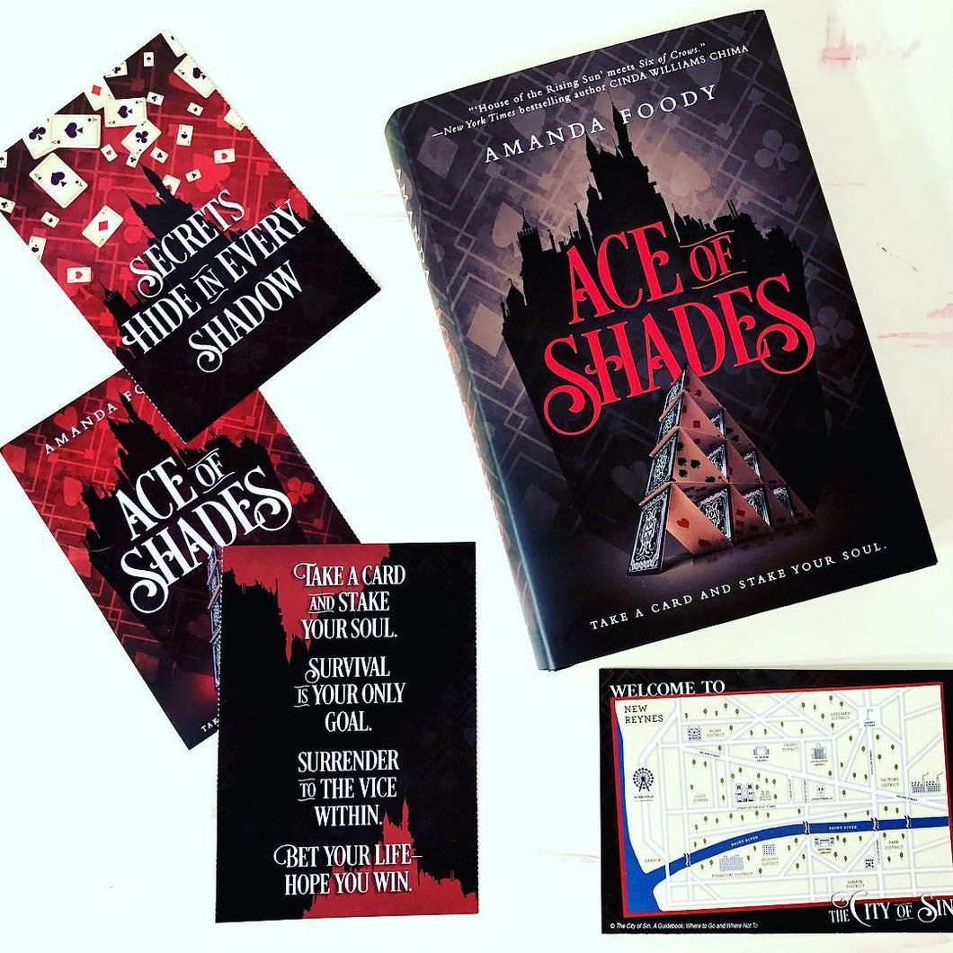 Ace of Shades (Exclusive Signed Edition w/ Author Letter and Postcard Set)