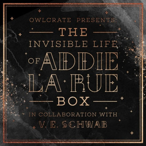 Limited Edition Invisible Life of Addie LaRue Box