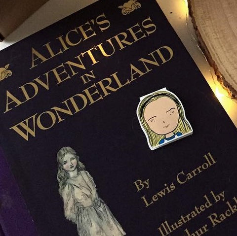 Alice Magnetic Bookmark