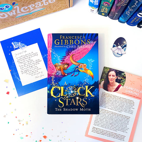 A Clock of Stars (Signed w/ Exclusive Endpapers, Author Letter, Sticker)