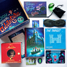 OwlCrate Jr August 2019 'THIEVES IN THE NIGHT' Box