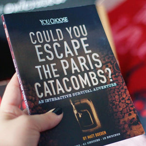 Could You Escape the Paris Catacombs?