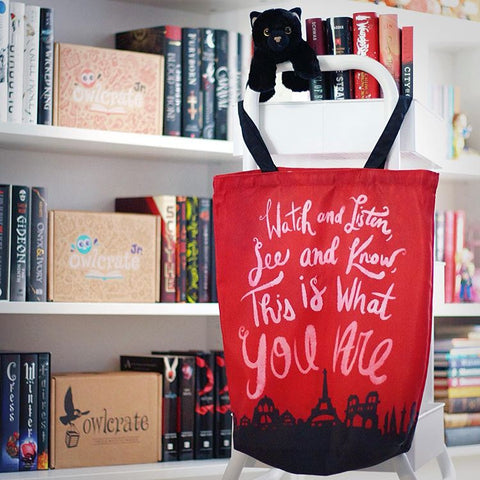 City of Ghosts Inspired Tote Bag