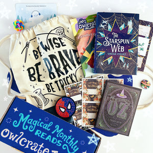 OwlCrate Jr November 2019 'PARALLEL WORLDS' Box