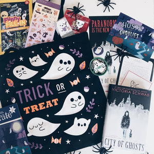 OwlCrate Jr September 2018 'GHOSTS AND GHOULIES' Box