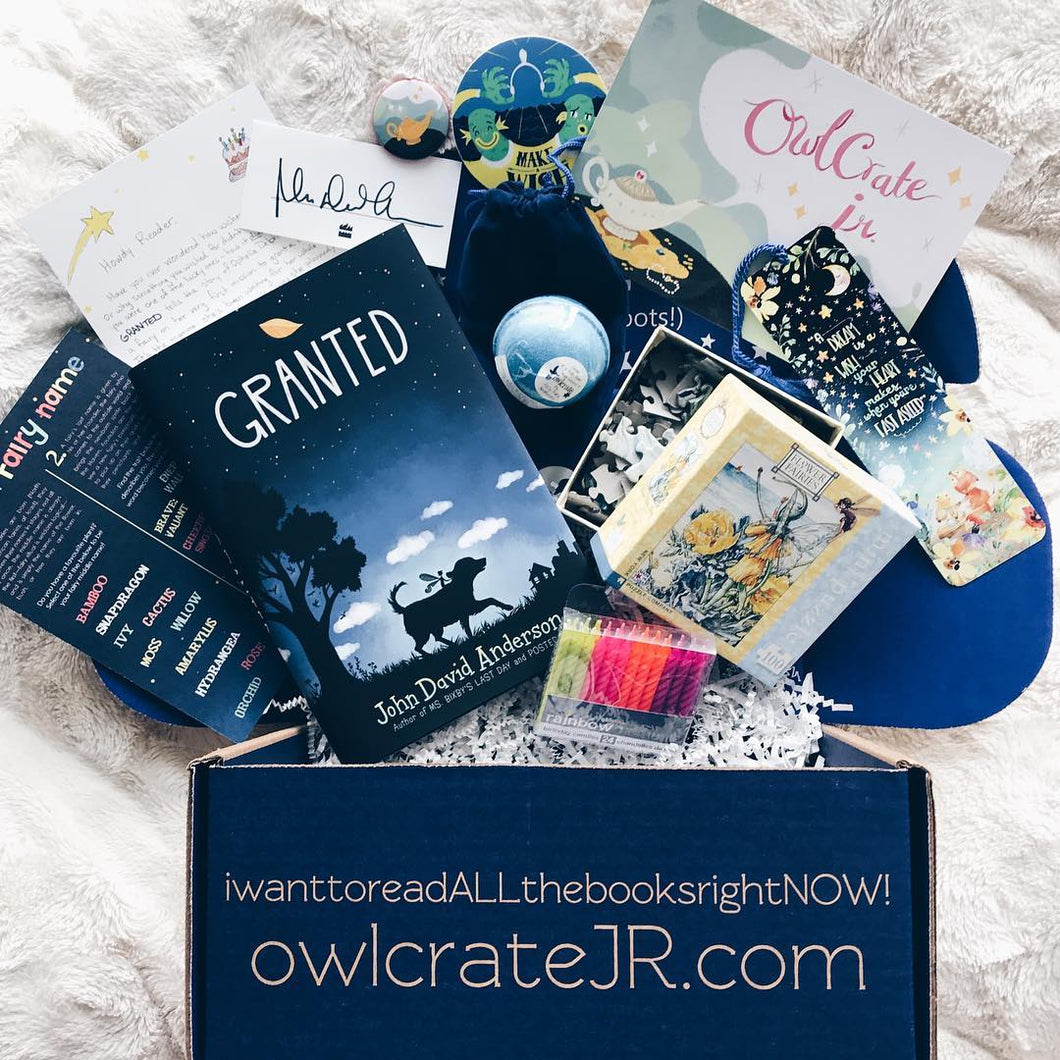 OwlCrate Jr March 2018 'I WISH...' Box