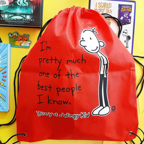 Diary of a Wimpy Kid Drawstring Backpack