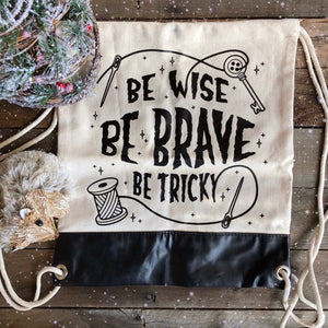 Be Tricky Drawstring Backpack