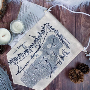The Hobbit-Inspired Canvas Pin Banner