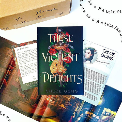 These Violent Delights (Exclusive Signed Edition w/ Author Letter and Reversible Dust Jacket Art)