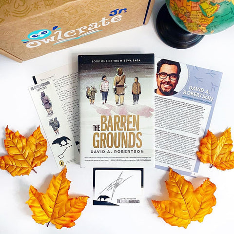 The Barren Grounds (Exclusive Edition w/ Signed Bookplate, Author Letter, Tattoos, Sticker)