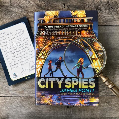 City Spies (Exclusive Signed Edition w/ Author Letter)