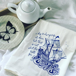 Exclusive Pirate Ship Tea Towel