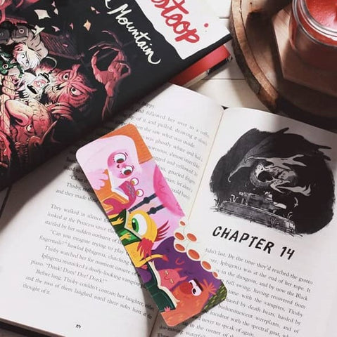 Book Monster Bookmark