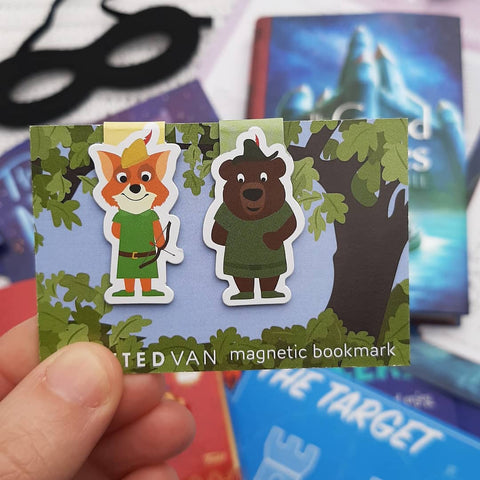 Robin Hood Magnetic Bookmarks