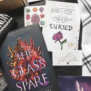 The Glass Spare (w/ Exclusive Edition, Signed Bookplate, Author Letter, Temporary Tattoos)