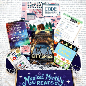 OwlCrate Jr March 2020 'CODE BREAKERS' Box