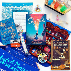 OwlCrate Jr May 2020 'ELEMENTS & ALCHEMY' Box