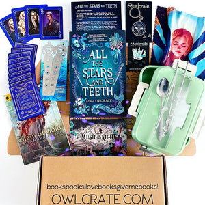 OwlCrate February 2020 'A POWER WITHIN' Box