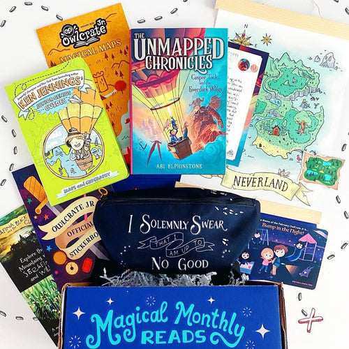 OwlCrate Jr January 2020 'MAGICAL MAPS' Box