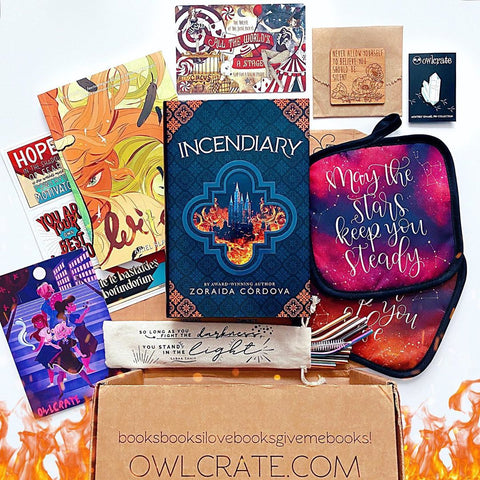 OwlCrate May 2020 'REBELS WITH A CAUSE' Box