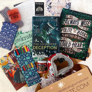OwlCrate December 2019 'TALES OF TRICKERY' Box
