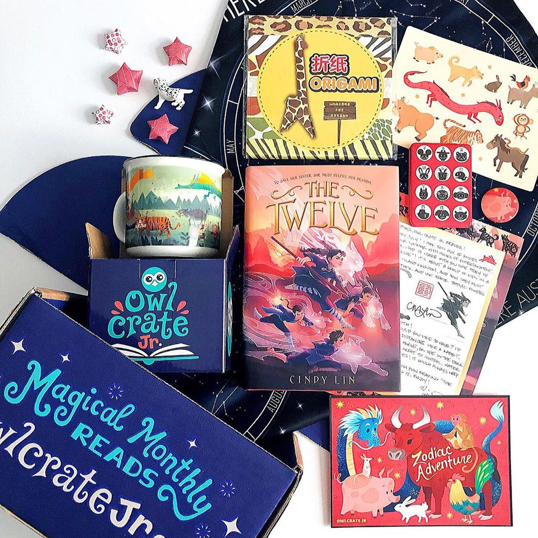 OwlCrate Jr July 2019 'ZODIAC ADVENTURE' Box