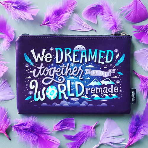 Exclusive World Remade Zipper Pouch