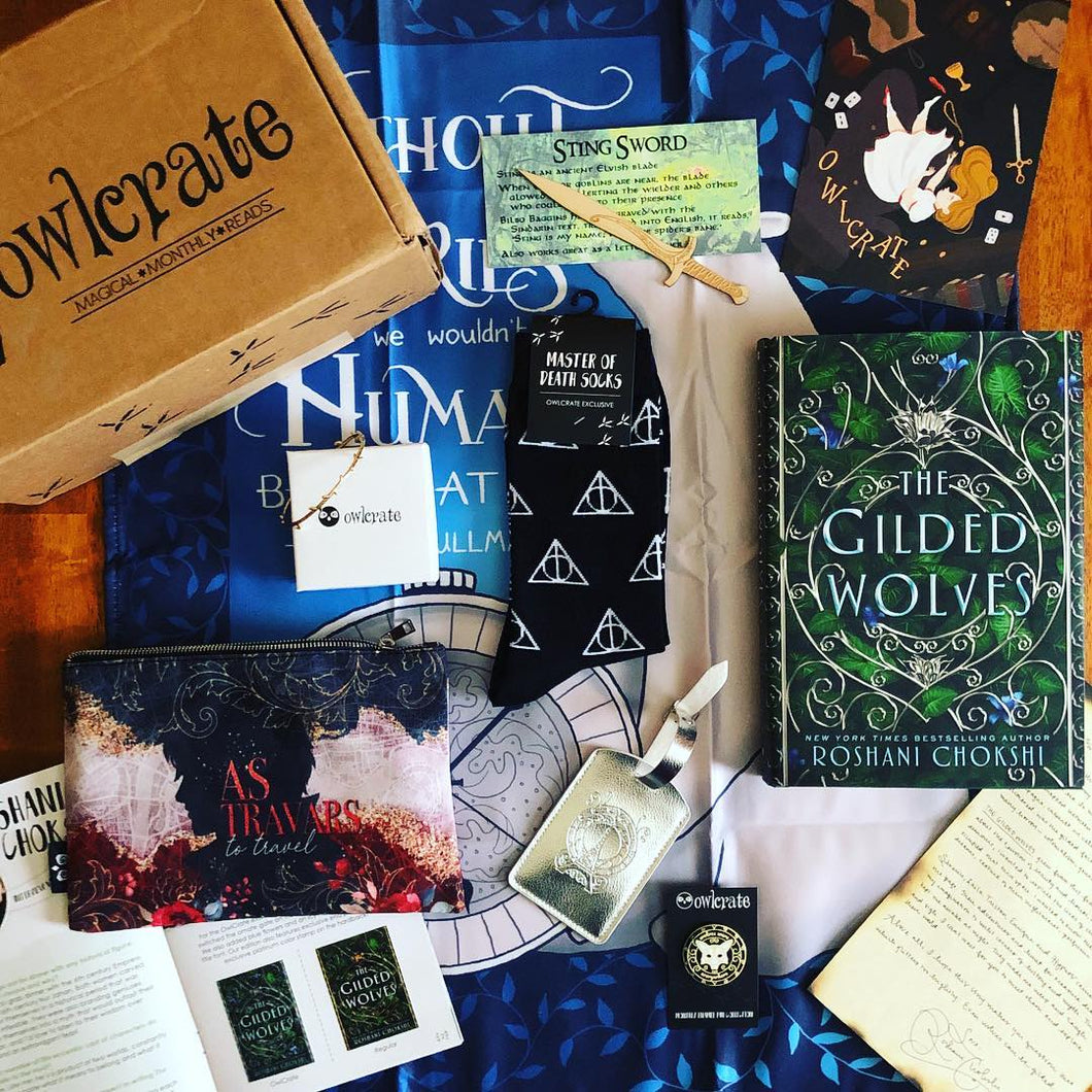 OwlCrate January 2019 'MAGICAL ARTIFACTS' Box(Test)