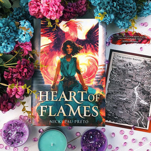 Heart of Flames (Exclusive Sprayed Edge Signed Edition)