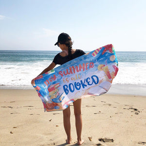 Exclusive Bookish Beach Towel