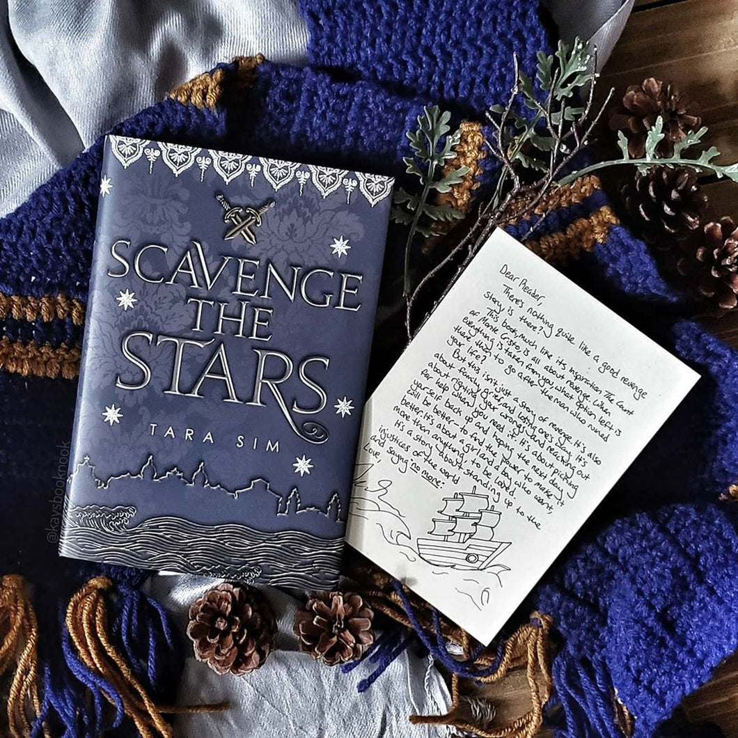 Scavenge the Stars (Exclusive Signed Edition w/ Author Letter)