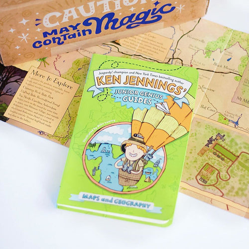 Ken Jennings' Junior Genius Guides: Maps and Geography