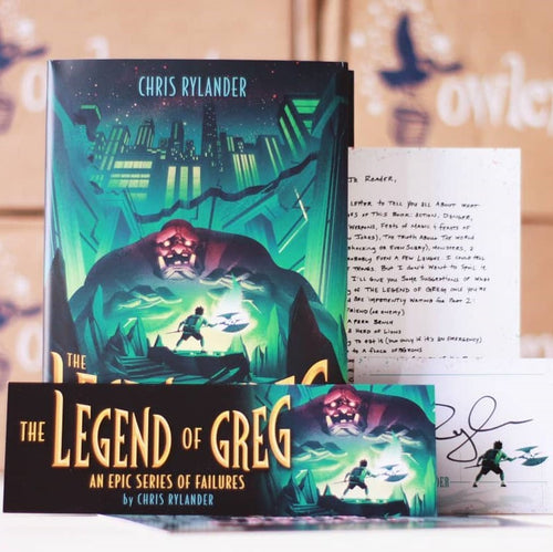 The Legend of Greg (w/ Author Letter, Bookmark)