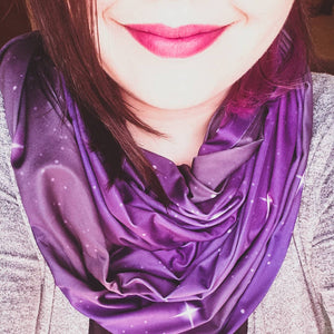 Exclusive Galaxy Infinity Scarf