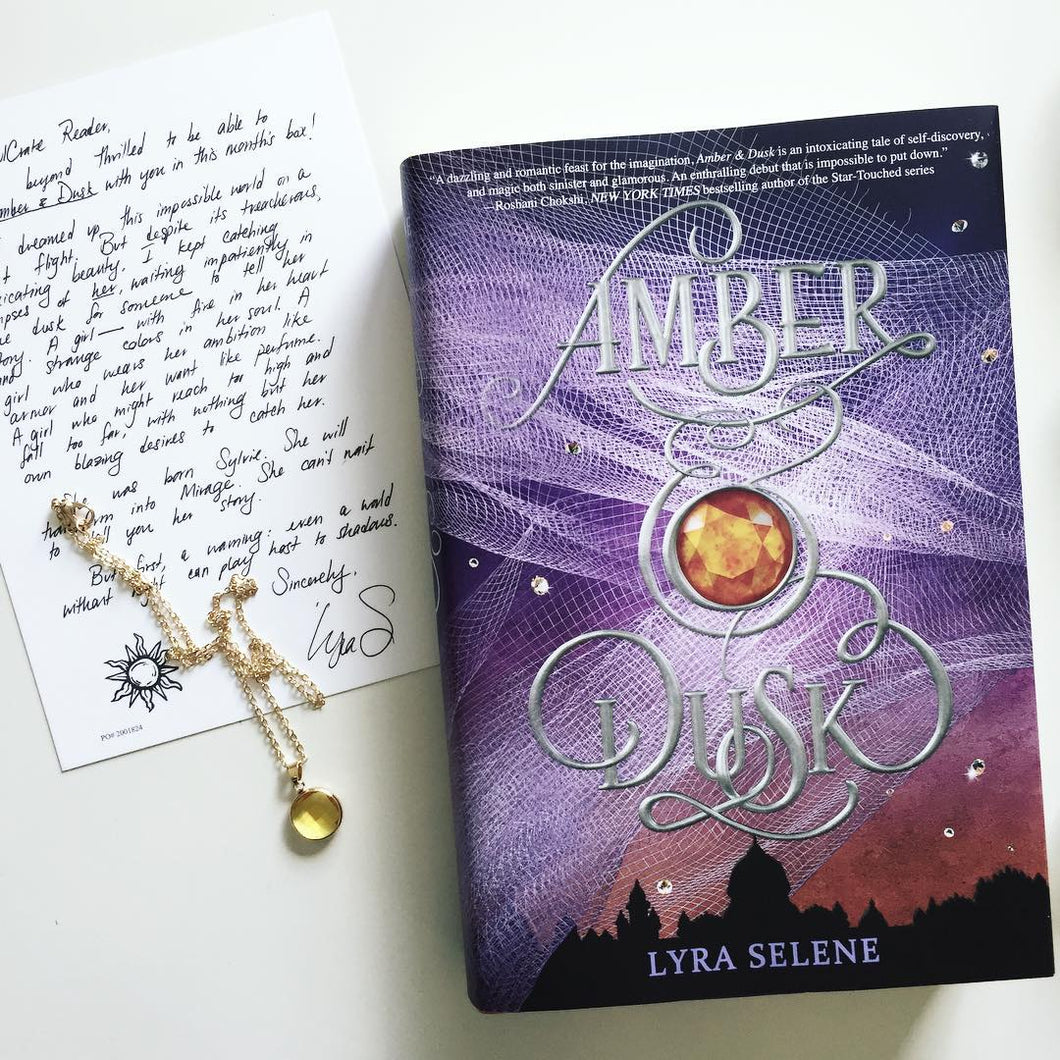 Amber and Dusk (Exclusive Signed Edition w/ Author Letter and Necklace)