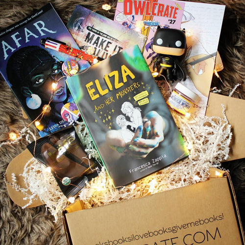 OwlCrate May 2017 'COMIC EXPLOSION' Box