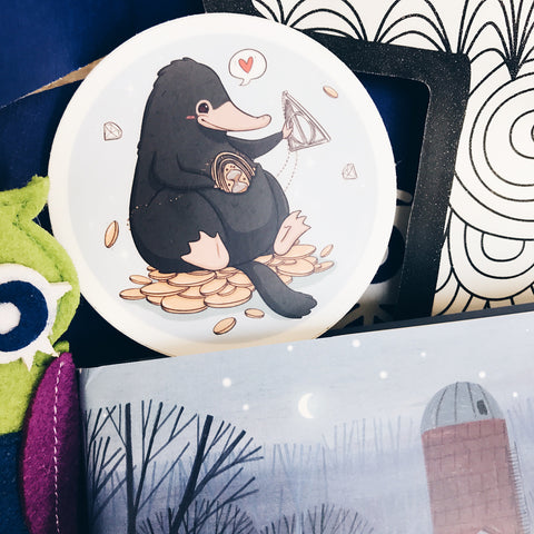 Adorable Niffler Sticker