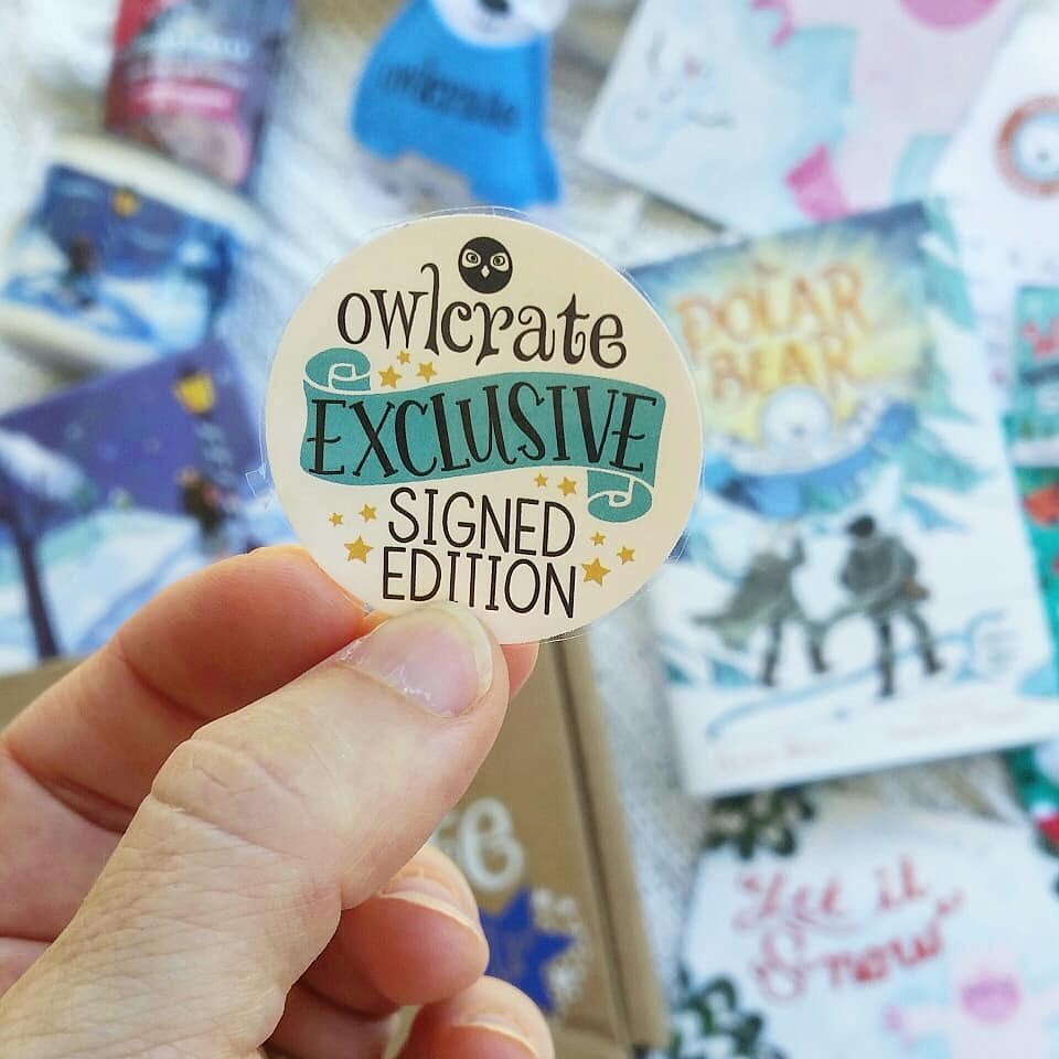 OwlCrate Signed Edition Sticker Set
