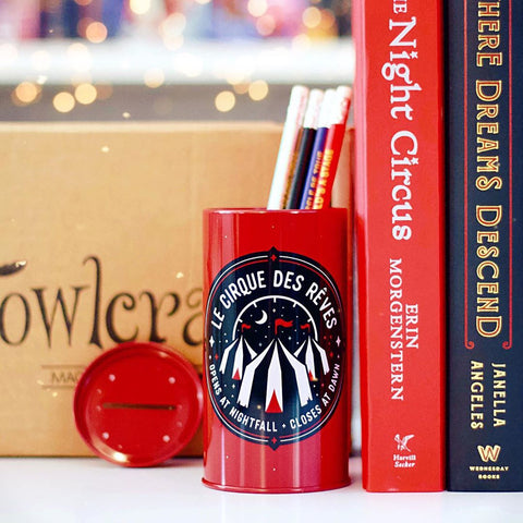 Circus of Dreams Tin Pencil Holder