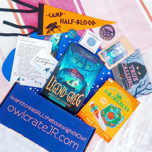 OwlCrate Jr July 2018 'TRUE CALLING' Box