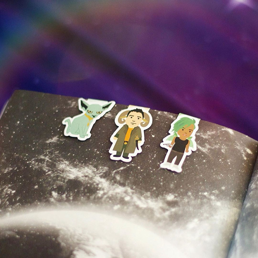 Saga Magnetic Bookmarks